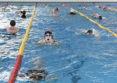 11 Das 24-Stunden Schwimmen in der ersten Stunde