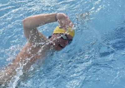 15 Freistilschwimmer