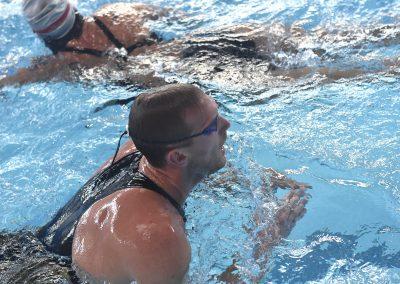 16 Brustschwimmer