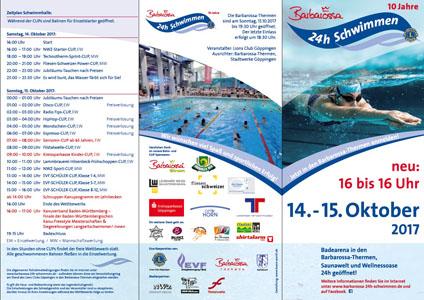 Flyer 24h Schwimmen