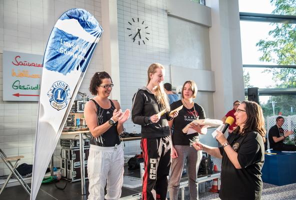 Sieger Damen - Barbarossa 24h Schwimmen 2016