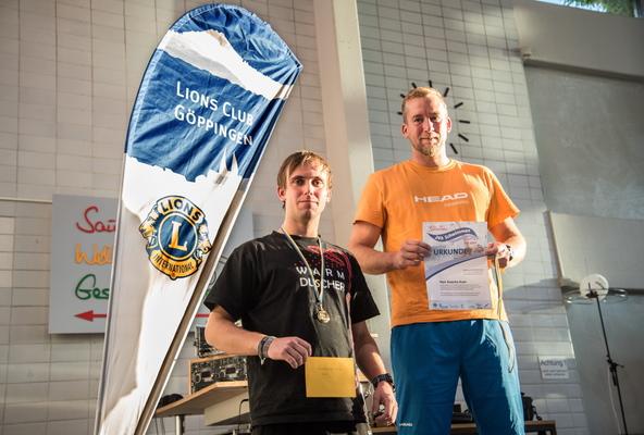 Sieger Herren - Barbarossa 24h Schwimmen 2016